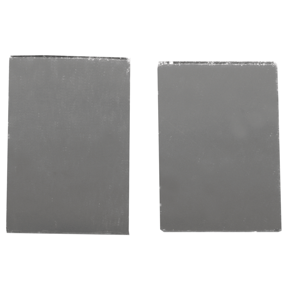 Spiegelmosaik, selbstklebend., 3x2cm, SB-Btl 50Stück, silber