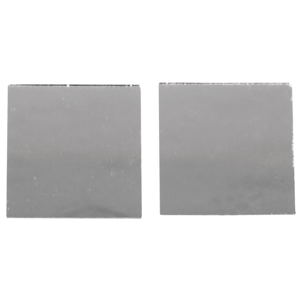 Spiegelmosaik, selbstklebend., 3x3cm, SB-Btl 45Stück, silber