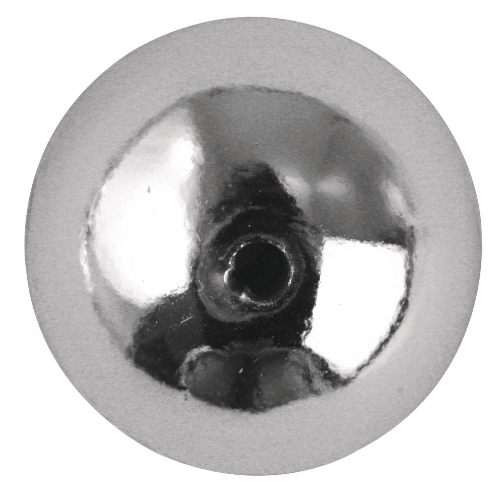 Plastik-Rundperlen, 6 mm ø, Dose 65 Stück