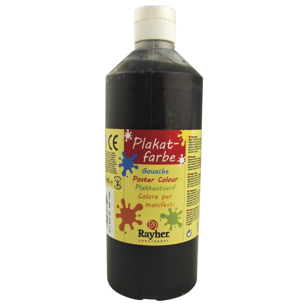 Plakatfarbe, Flasche 500 ml