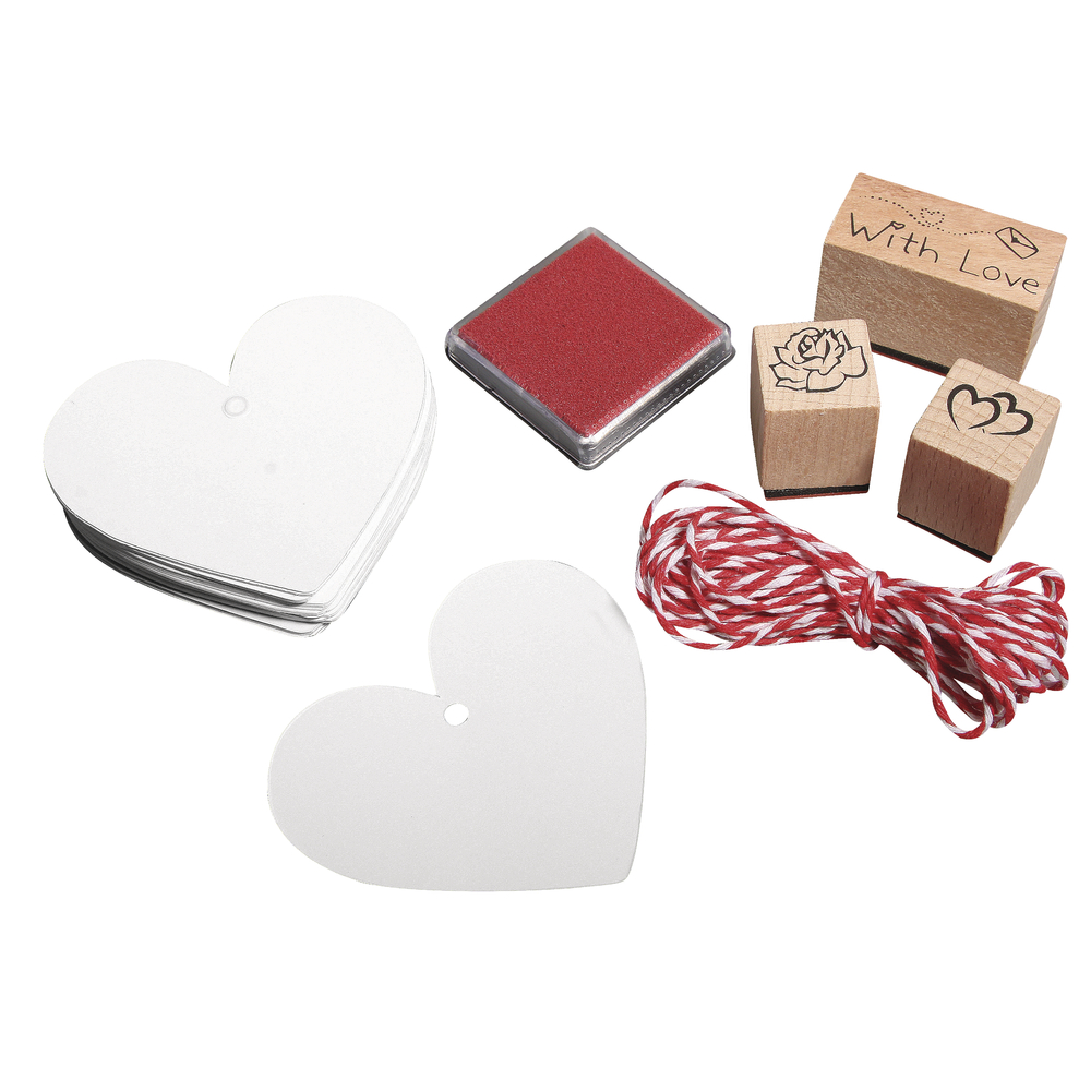 Stempel Set With Love, 37-teilig